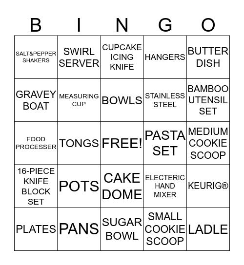 ᎪmᎪᏁᎠᎪ's bᏒᎥᎠᎪᏞ shᎾᎳᎬᏒ Bingo Card