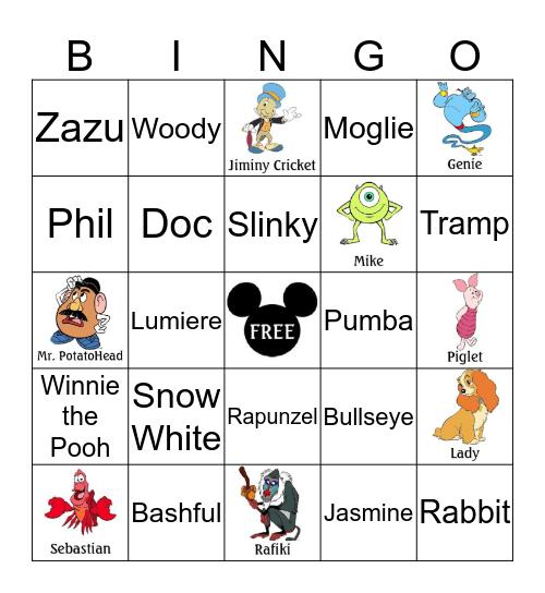 INFINITI HR Disney Bingo Card