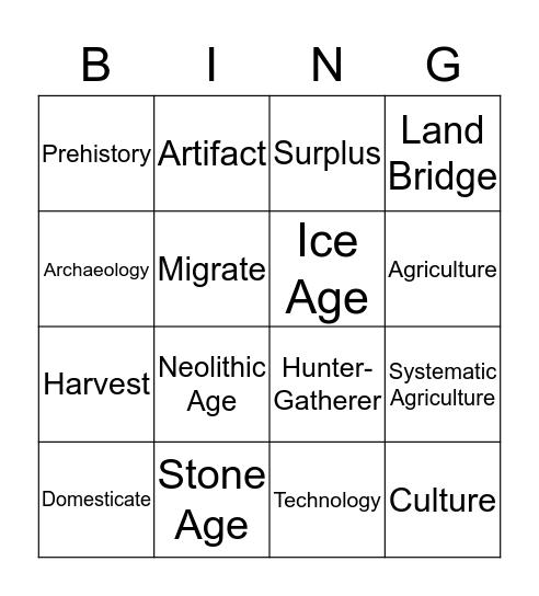 SS 9/5 Thingimajigeramon Bingo Card