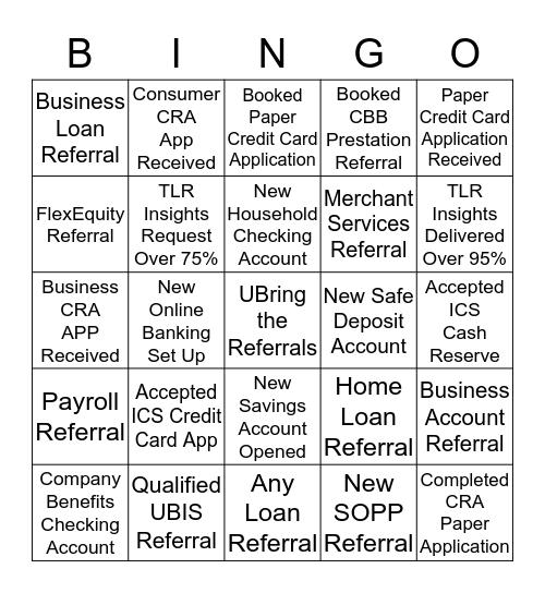 Lompoc UB Bingo Card
