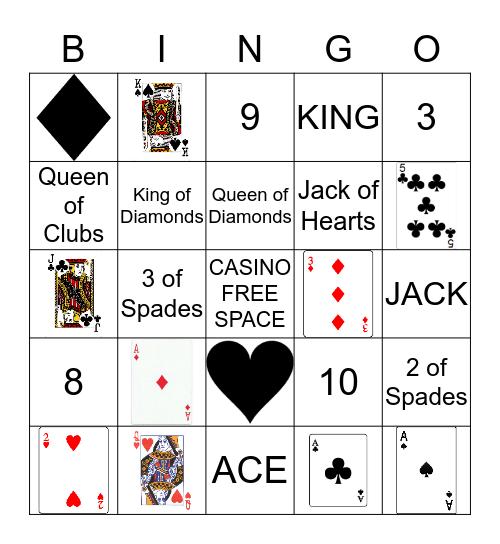 Casino Bingo Card
