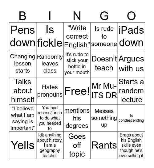 MLS History Bingo Card