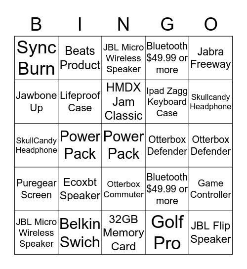Bingo Part 3 Bingo Card