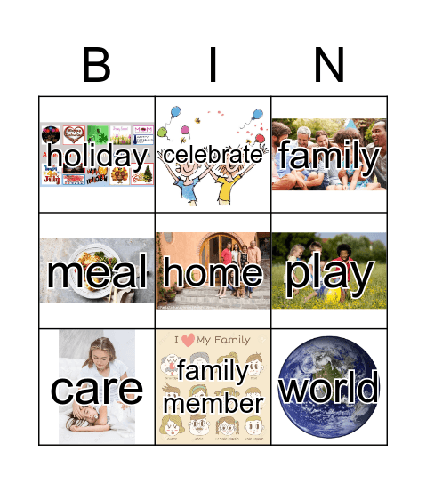 GR1 Unit1 Part1 REACH Bingo Card