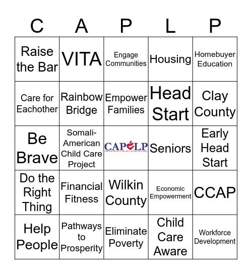 CAPLP Bingo Card