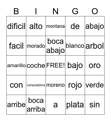 Technology Bingo Card