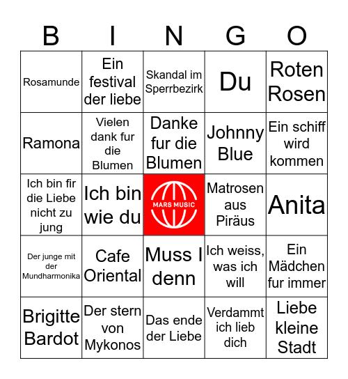 Effe Duits Bingo Card