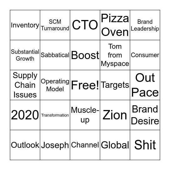 CLG / ELG Bingo! Bingo Card