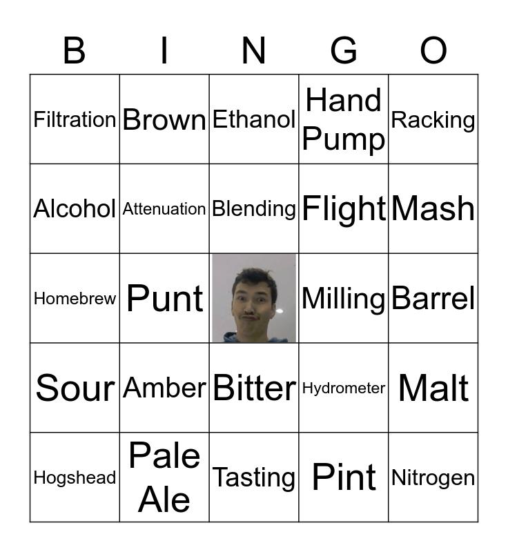 Beer Bingo Final Round Bingo Card