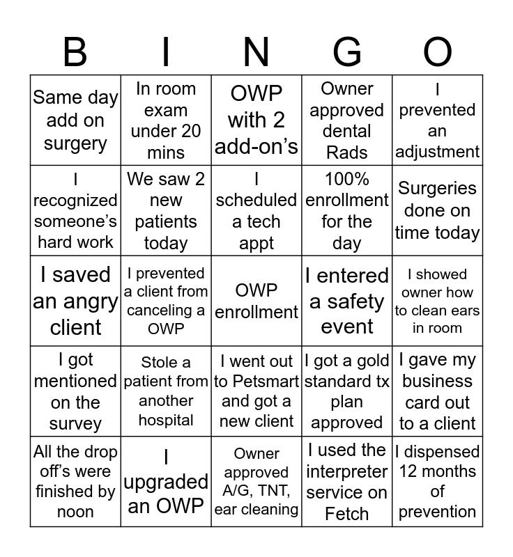 Spooky Bingo  Bingo Card