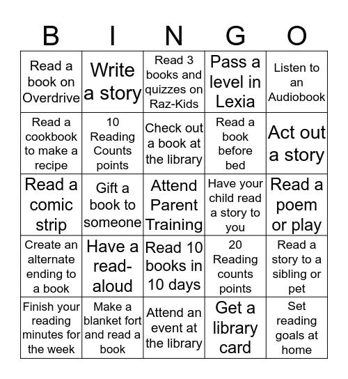 #iInspireBingo October 2019 Bingo Card