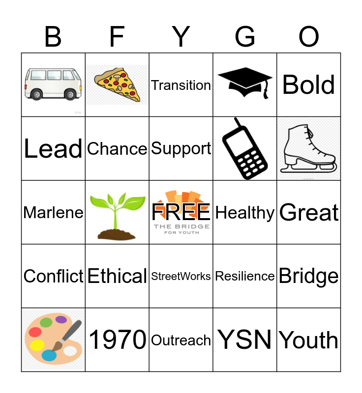 BRIDGE BINGO! Bingo Card