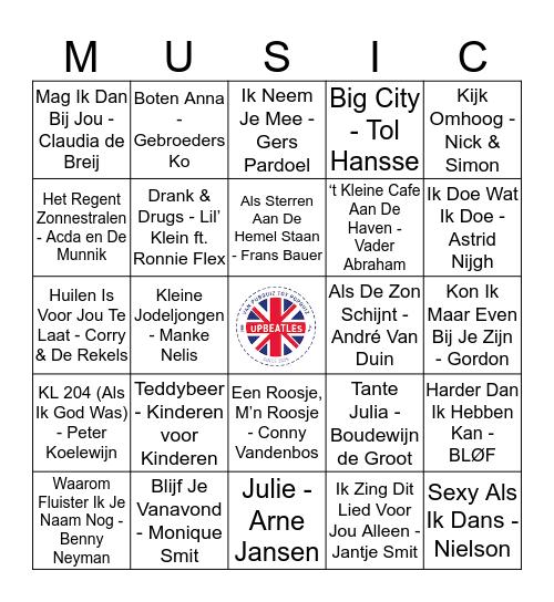 110 Bingo Card