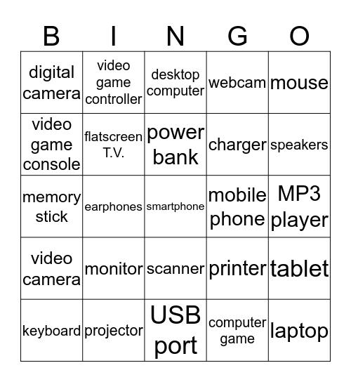 __ __ __ __ __ __ __ __ __ __ Bingo Card