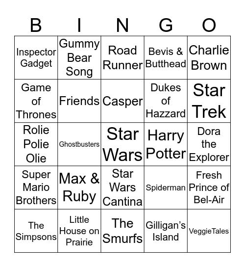 Bingo 64 - 60 Bingo Card