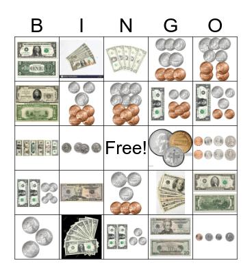 MONEY Bingo Card