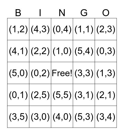 Assenstelsel Bingo Card