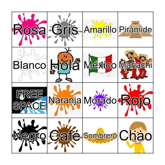 Lotería Bingo Card
