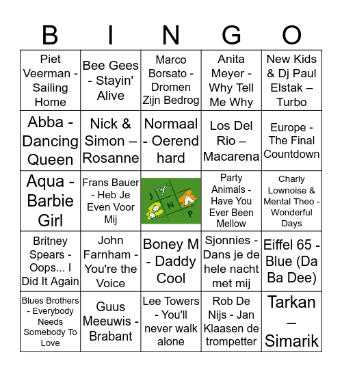 KEIKOP Bingo Card