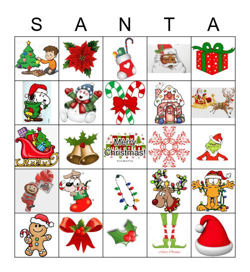 GBS Christmas Bingo 2018 Bingo Card