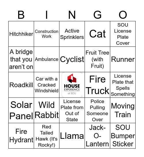 House Bingo! Bingo Card