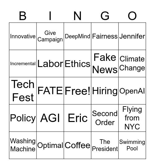 Trilabs 2020 Bingo Card