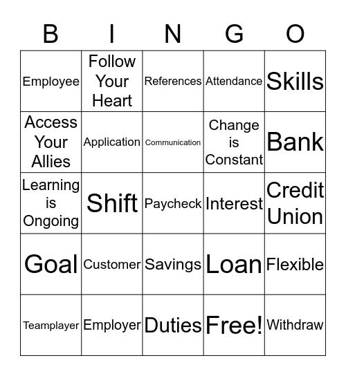 RTP  Bingo Card