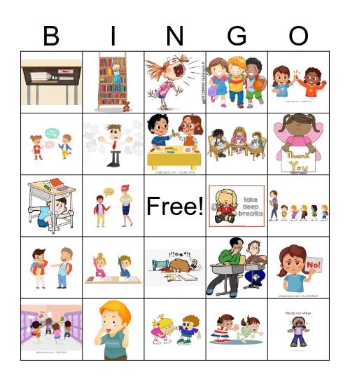 Expected vs. Unexpected Behavior Bingo Card