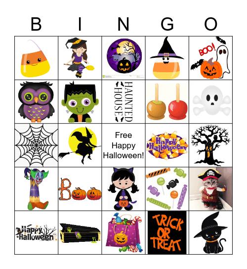 HALLOWEEN Bingo Card