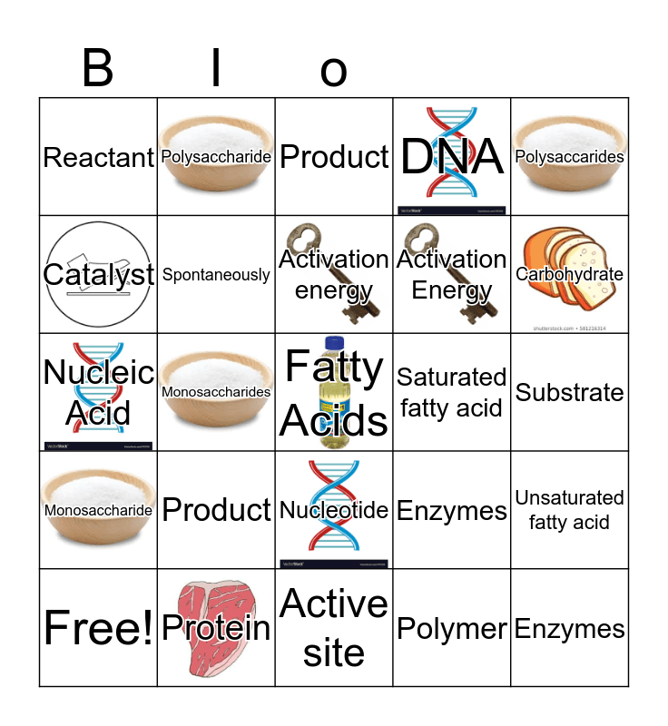 We're Going To Do Awesome on Biology Test 2! Bingo Card