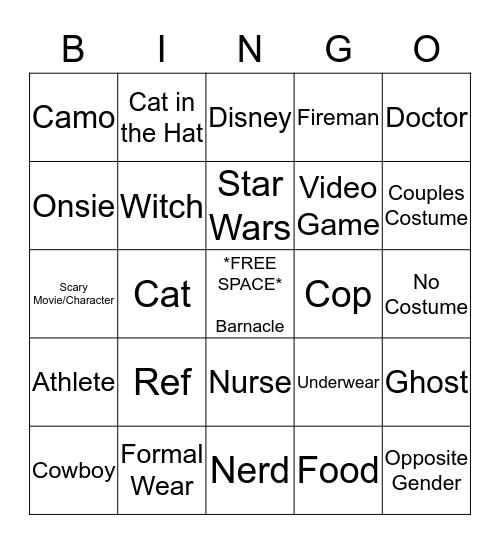 Ship Bingo Card