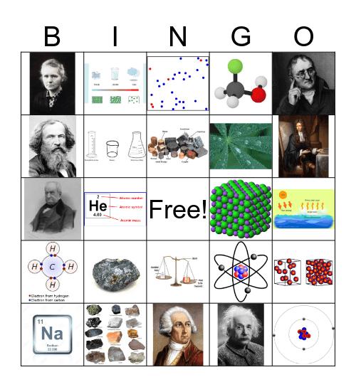 Chemistry Bingo  Bingo Card
