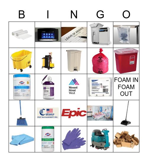 EVS WEEK BINGO  Bingo Card