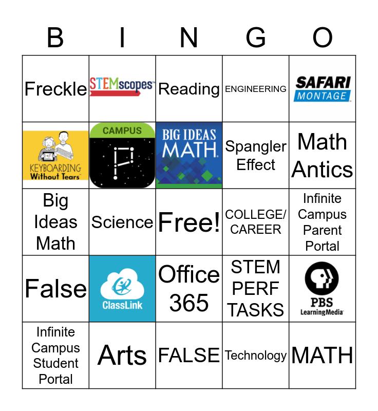 STEM, STEAM, AND STREAM Bingo Card