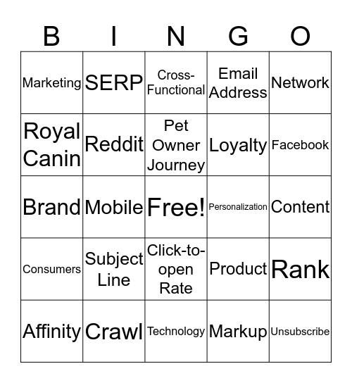 Best Practice Overview for Success in 2020 Bingo Card