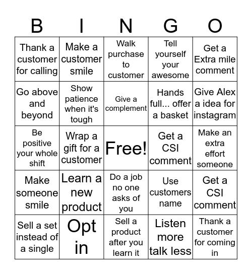 Here To Slay Bingo Card