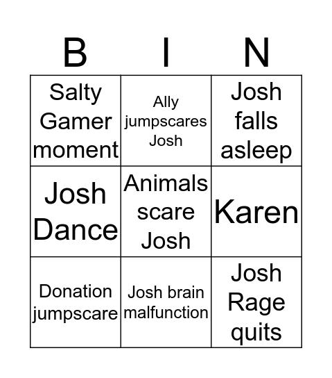 24-HOUR SALT STREAM Bingo Card