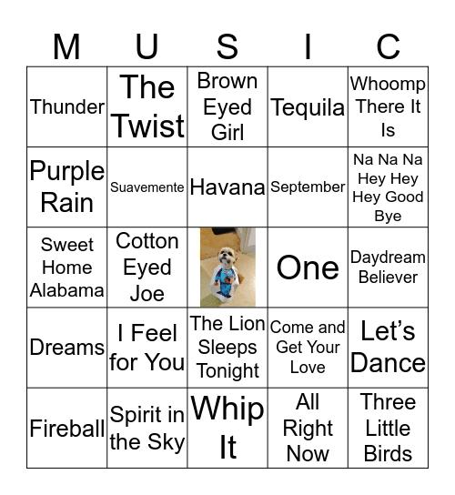 Sullivan-Wheeler Familia - 2019 Bingo Card