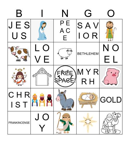 HAPPY BIRTHDAY JESUS! Bingo Card