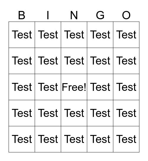 ON THE MOVE BINGO! Bingo Card