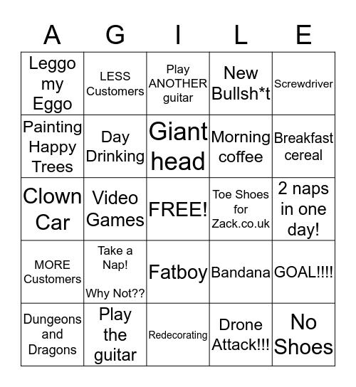 This is Bullsh*t Bingo Card