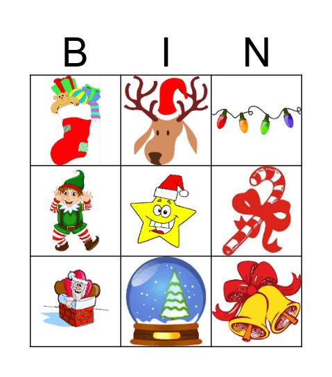 NATAL BRIGHT KIDS 2016 Bingo Card
