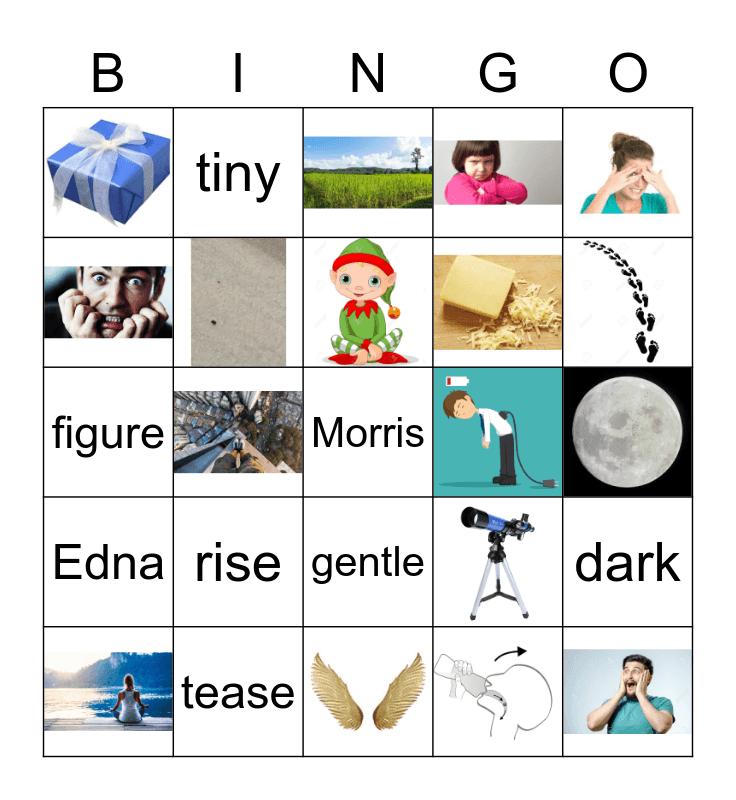 Moon Made of Cheese Part 2 Bingo Card