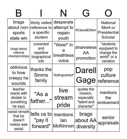 Watson Bingo 2k14 Bingo Card