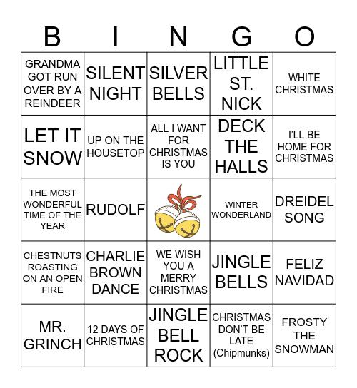 Holiday Jingle Bingo! Bingo Card