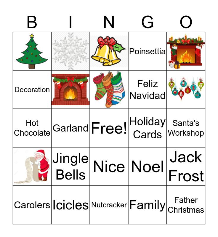 Christmas BINGO! Bingo Card