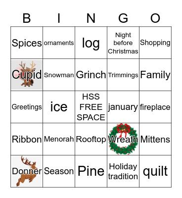 Winter Wonderland  Bingo Card