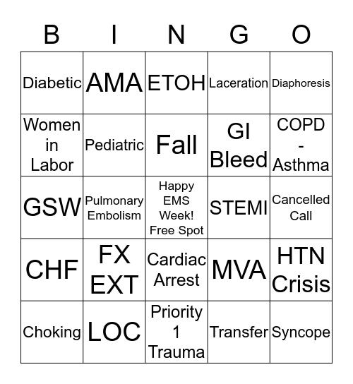 Add run # to each square as you run that call. Bingo Card