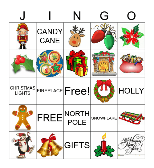 Jingo Bingo Card