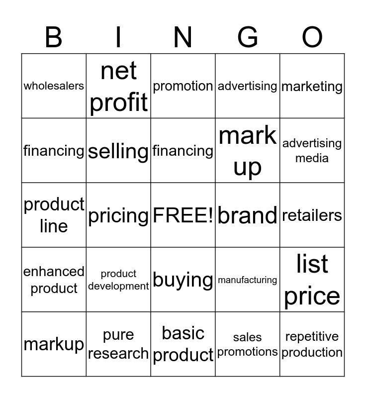 board 1 Bingo Card